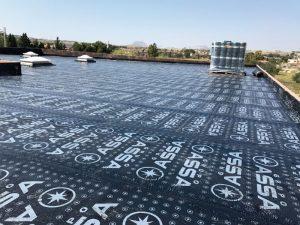 trabajo de impermeabilización en Villafranqueza