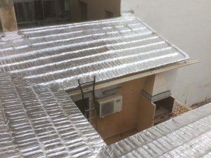 Tejado impermeabilizado en San Juan